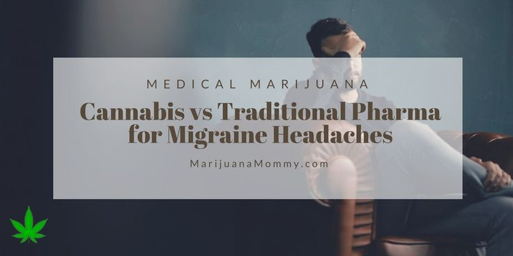 Can cannabis help migraines? Here's the science behind why medical marijuana relieves headaches and the differences between MMJ vs Traditional Migraine Meds