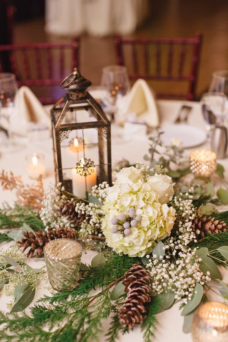 28 Brilliant Pinecone Wedding Decoration Ideas Wedding Table Decorations Winter Wedding Centerpieces Winter Wedding Table