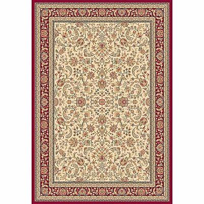 Traditional Persian carpet, luxury fabric 'Ivory Hali' rug