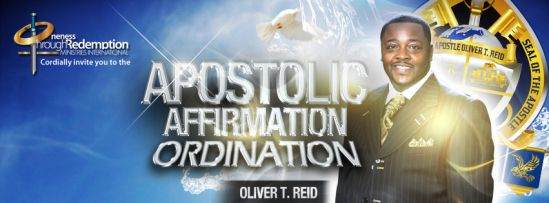 Apostolic Affirmation Ordination OTR Ministries Banner Facebook - By Skillgrapher