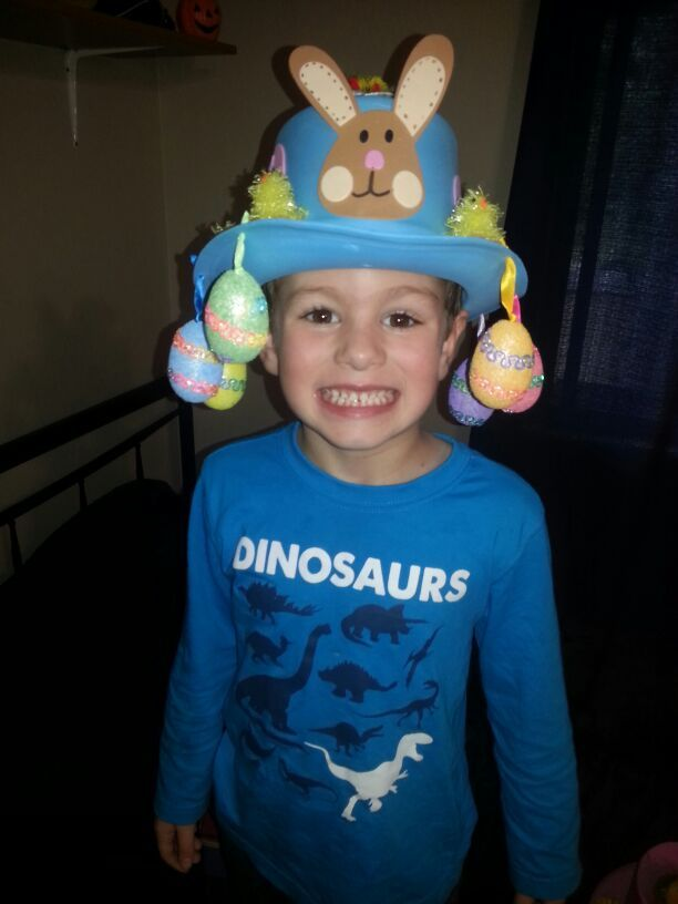easter hat project