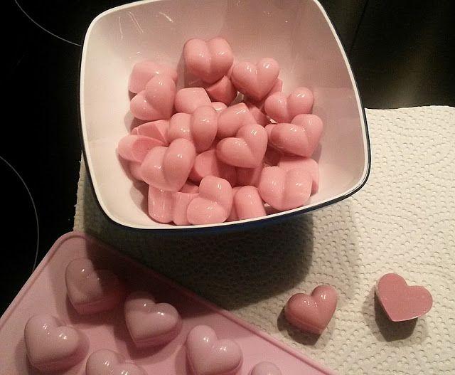 Gominolas de yoghurt