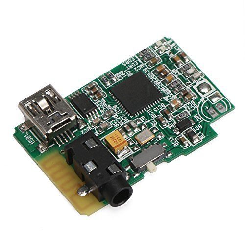 DROK® Portable Stereo Bluetooth Audio Receiver Stereo Receiver Board Receiver Module for DIY Wireless Stereo Speaker Amplifier Support V3.0 Bluetooth for Headphone, Laptop, Tablet PCS, etc.