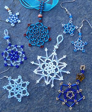 17 Best images about Beaded Snowflakes Patterns ...