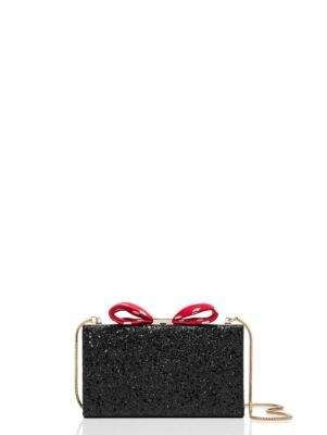 kate spade new york for minnie mouse bow clasp clutch | Kate Spade New York
