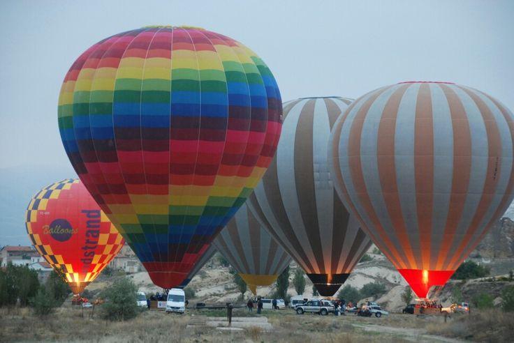 Hot Air Balloon in Capadoccia, Turkey
