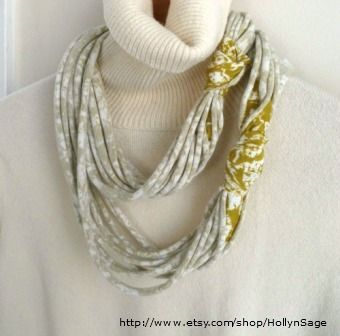 Recycled t-shirt scarf tutorial: Make no-sew accessories from recycled apparel