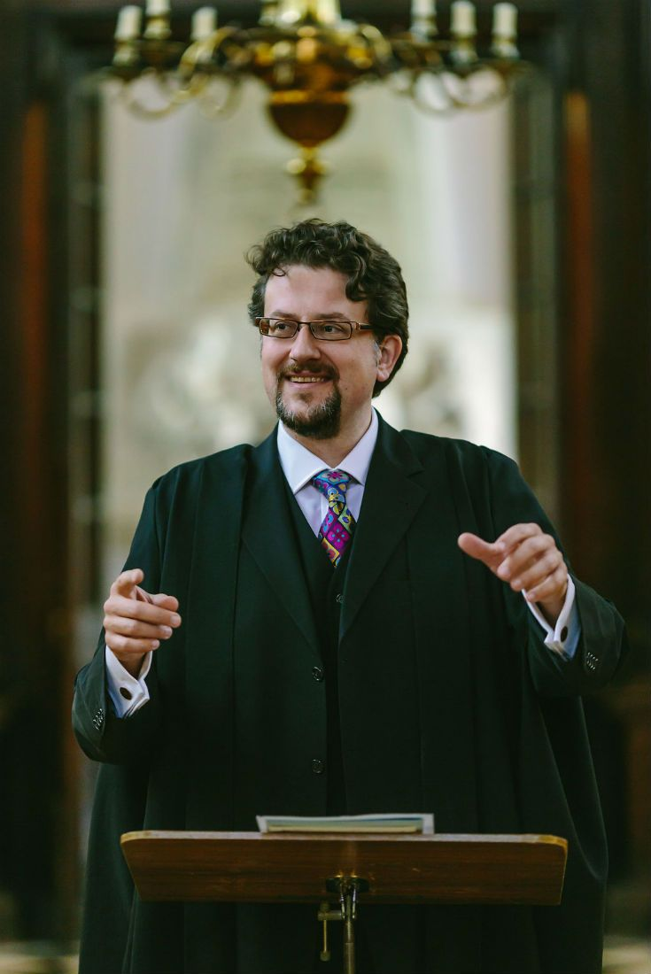 University College Oxford Director of Music – Giles Underwood.