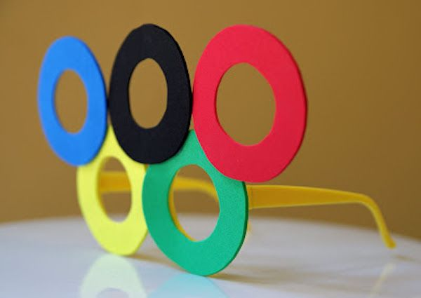 Olympics DIYs  #olympics #diy #party #ideas