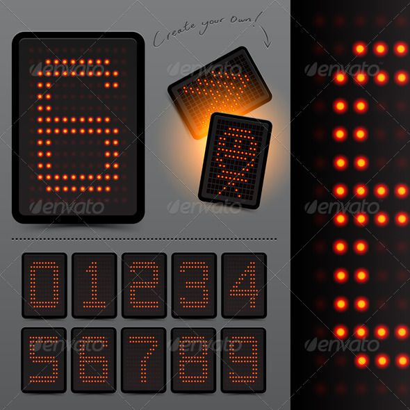 Realistic Graphic DOWNLOAD (ai, psd)     hardcastde - scoreboard template