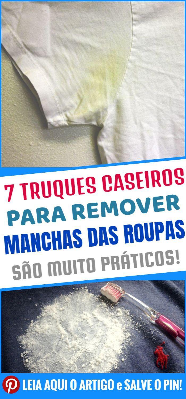 7 truques para remover manchas nas roupas   – TIRA-MANCHAS