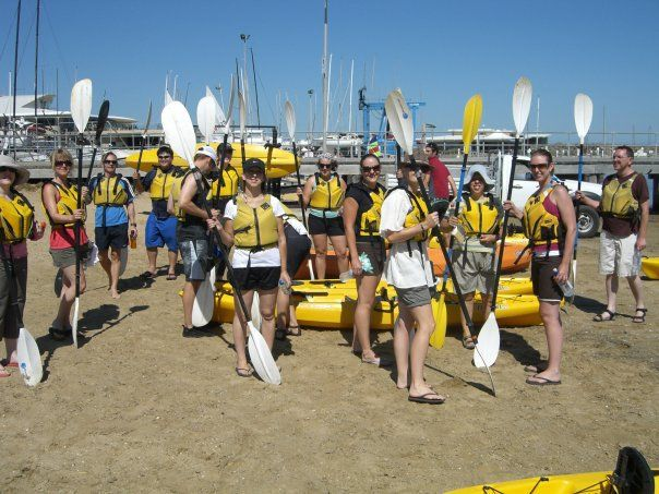 All ready for Sea Kayaking