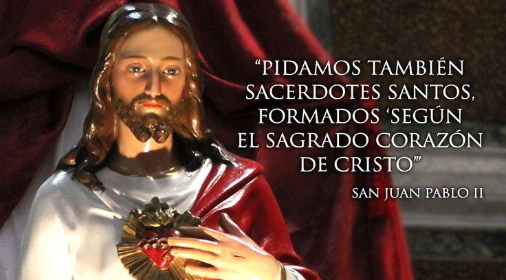 En la fiesta del Sagrado Corazón de Jesús, la Iglesia también celebra la Jornada Mundial de Oración por la Santificación de los Sacerdotes, convocada por el Santo Padre a través de la Congregación para el Clero.