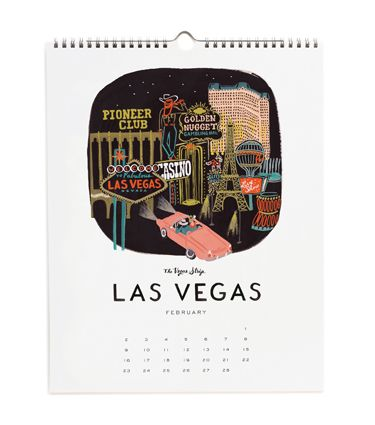 Want It! Rifle Paper Co. Travel America Calendar