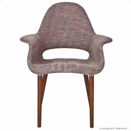 Eames / Saarinen Replica Organic Chair - Light Brown
