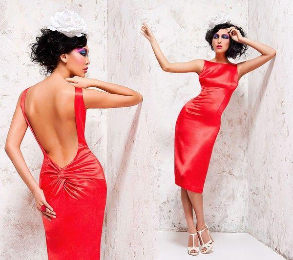 Красное платье - Вечерние платья (красивые платья). Единая Служба Объявлений