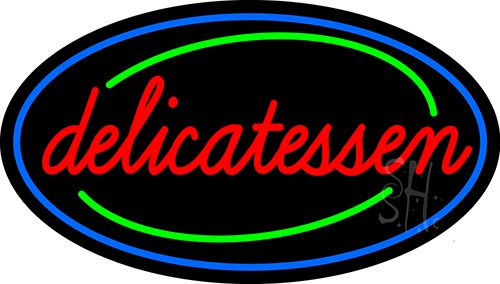 Delicatessen Neon Sign
