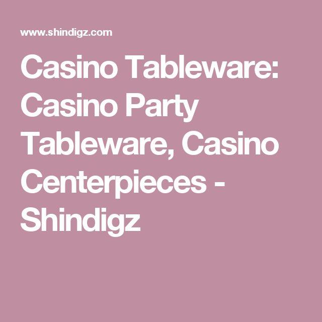 Casino Tableware: Casino Party Tableware, Casino Centerpieces  - Shindigz