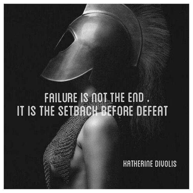 English quotes, failure , defeat. Spartan women