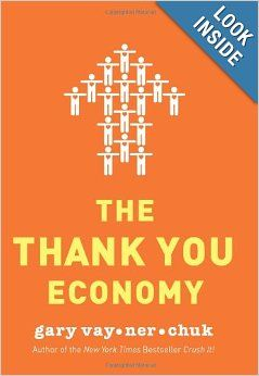 Book review of The Thank You Economy, one of the best books to read if you're starting or in business.