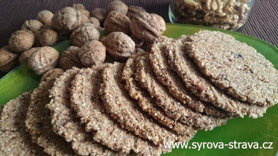 Ořechovo-kokosové sušenky