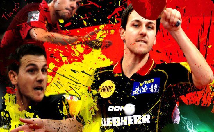 Tennis De Table Timo Boll HD Wallpaper