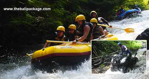 White water rafting and quad biking bali #balitour #baliatv #travel #holidayspackage #traveling #adventure #rafting