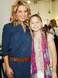 Candace Cameron Bure with daughter