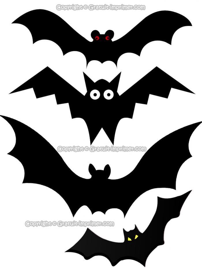 Les 25 meilleures id es de la cat gorie chauve souris sur - Deco halloween chauve souris ...