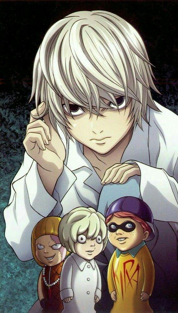 Pin de Peter's em DEATH NOTE Personagens de anime, Anime