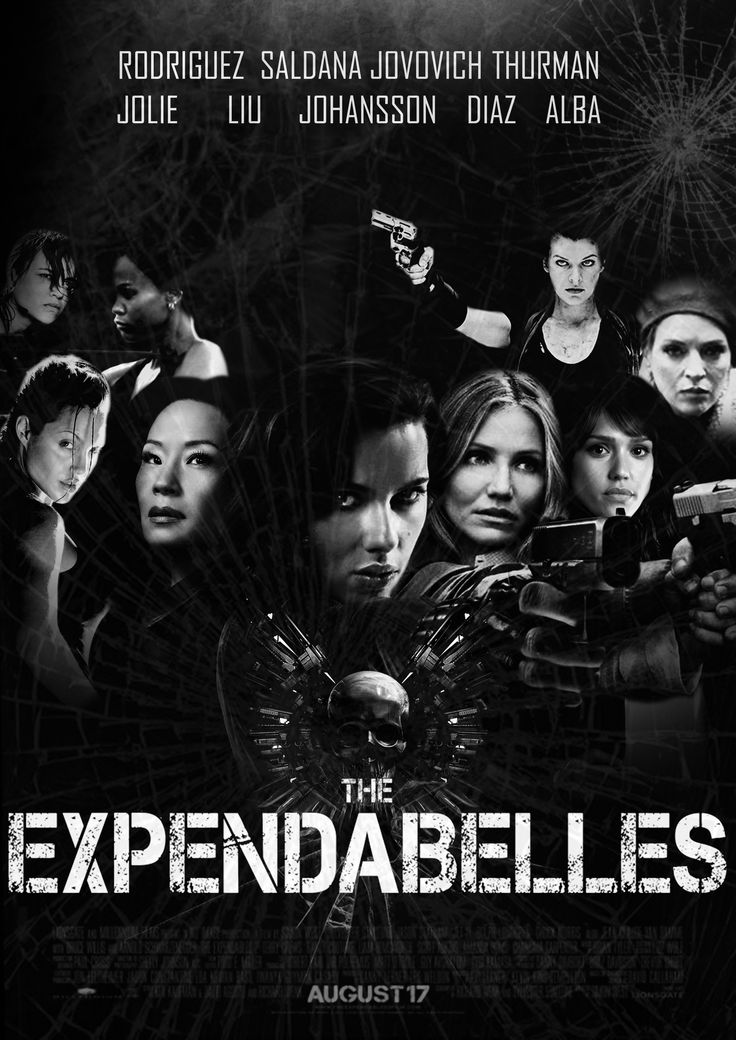 Is this coming ? LOL ;-) #joke #funny #fanarts #expendabelles #expendables #movie #camerondiaz #jessicaalba #umathurman #lucyliu #angelinajolie #ScarlettJohansson