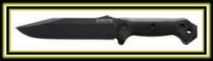 Ka-Bar Becker BK7 Combat Utility Fixed Blade Knife (7-Inch) Sturdy, lightweight all-purpose utility knife Easy-to-sharpen 1095 Cro-Van steel blade Durable glass-fiber-filled nylon handle 20-degree edge angle; 7-inch blade length Measures 12-7/8 inches overall; weighs 0.75 pounds http://theceramicchefknives.com/military-combat-knives/  Combat Knives, Fixed Blade, Gerber 31-001901 Bear Grylls Ultimate Pro Fixed Blade,