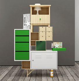 La agencia de diseño industrial italiana Teste di Legno ha creado una serie de muebles altamente creativos e ingeniosos al armar, en donde la mezcla y la fusión de la piezas queda al libre albedrío de la persona. Dichos diseños fueron elaborados con diferentes piezas de muebles de IKEA.