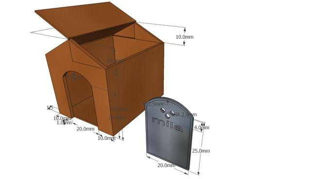cuccia cani piccola taglia - 3D Warehouse