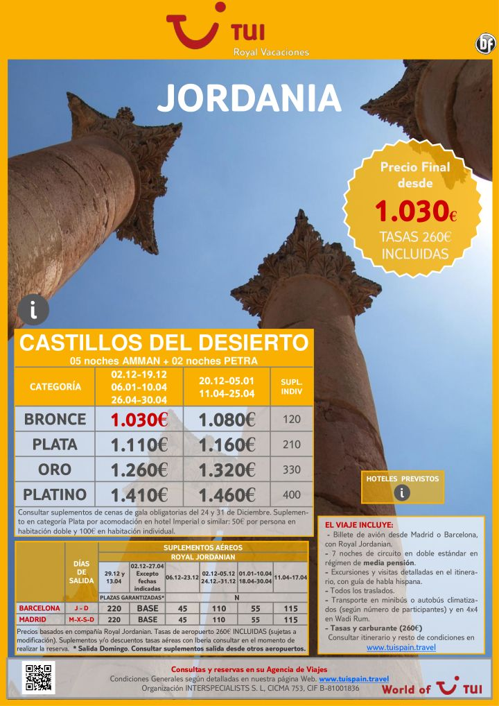 JORDANIA: Castillos del desierto. Precio final desde 1.030€ ultimo minuto - http://zocotours.com/jordania-castillos-del-desierto-precio-final-desde-1-030e-ultimo-minuto/