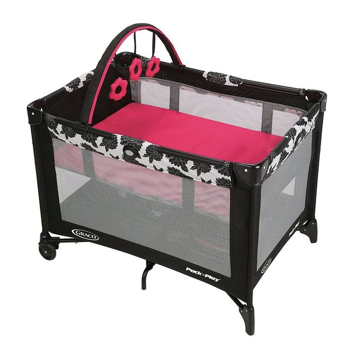 Baby Nursery Center Playard Bassinet Portable Playpen Infant Crib Bed Play Yard #Graco