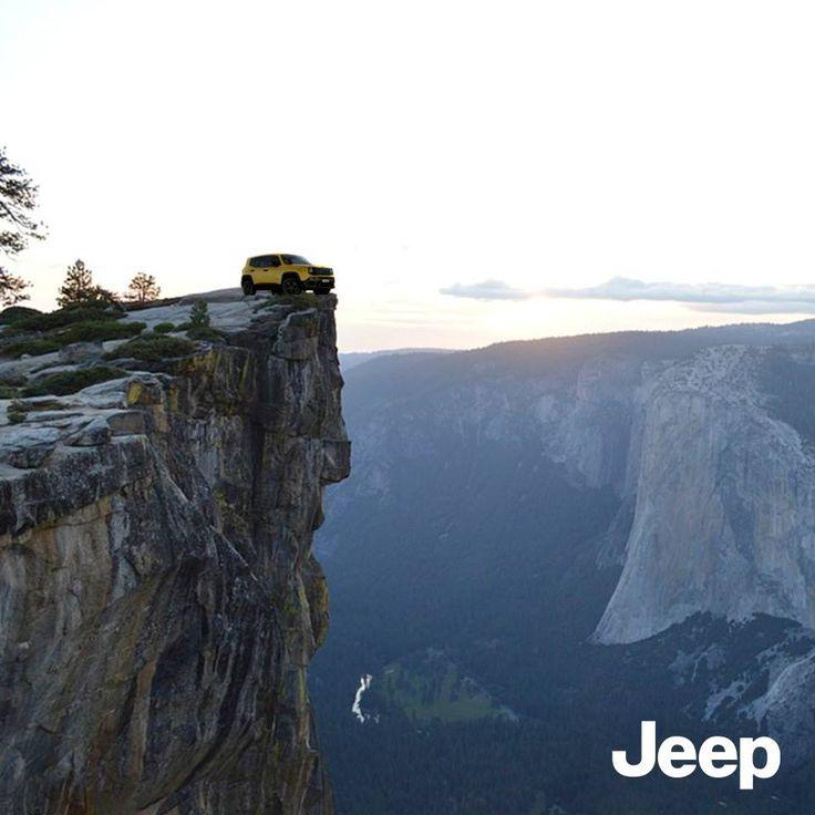 Spektakularne krajobrazy zachwycają najbardziej z punktu widzenia Jeepa. #JeepLife #JeepRenegade