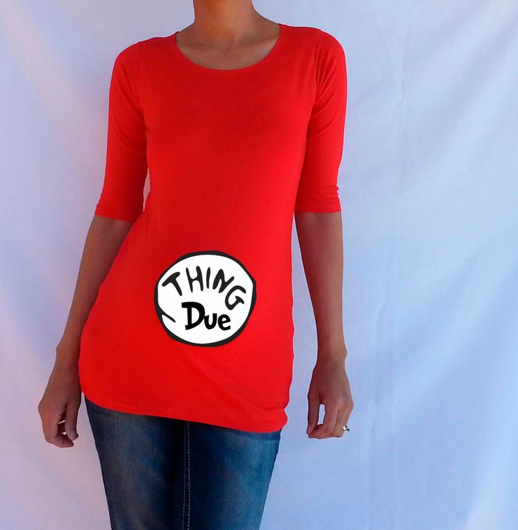Maternity Shirt  Thing Due  Dr seuss Theme by DJammarMaternity, $27.99