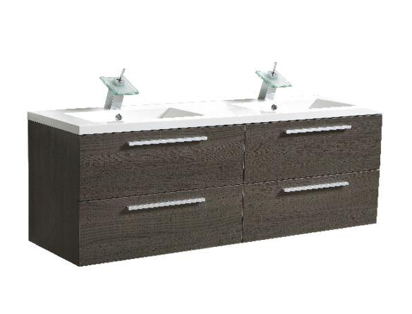 1000 ideias sobre lavabo suspendu no pinterest lavabo for Meuble salle de bain suspendu ikea
