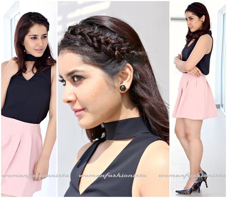 Raashi Khanna in short skirt