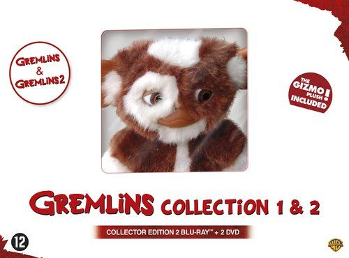 Gremlins Collection 1 & 2 (2 disc Blu-ray + DVD)