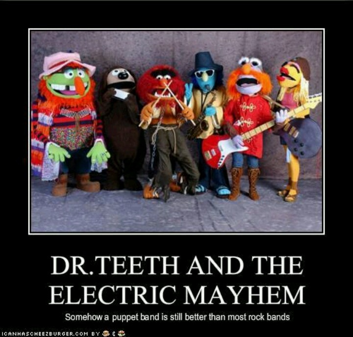 21 Best Muppet Love Images On Pinterest: 15 Best Dr Teeth And The Electric Mayhem Band Images On