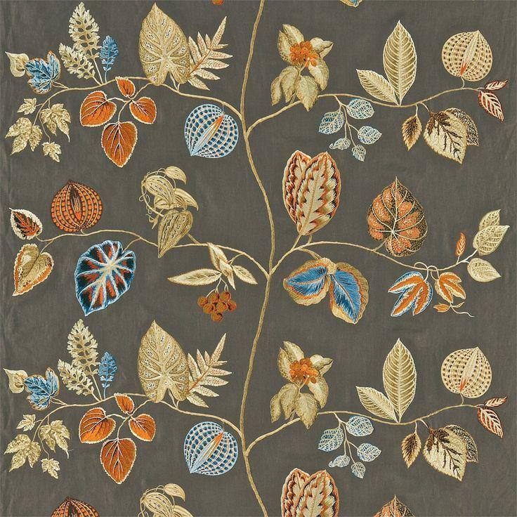 Zoffany - Luxury Fabric and Wallpaper Design   Products   British/UK Fabric and Wallpapers   Arlecchino (ZFRU330008)   Frangipani Fabrics