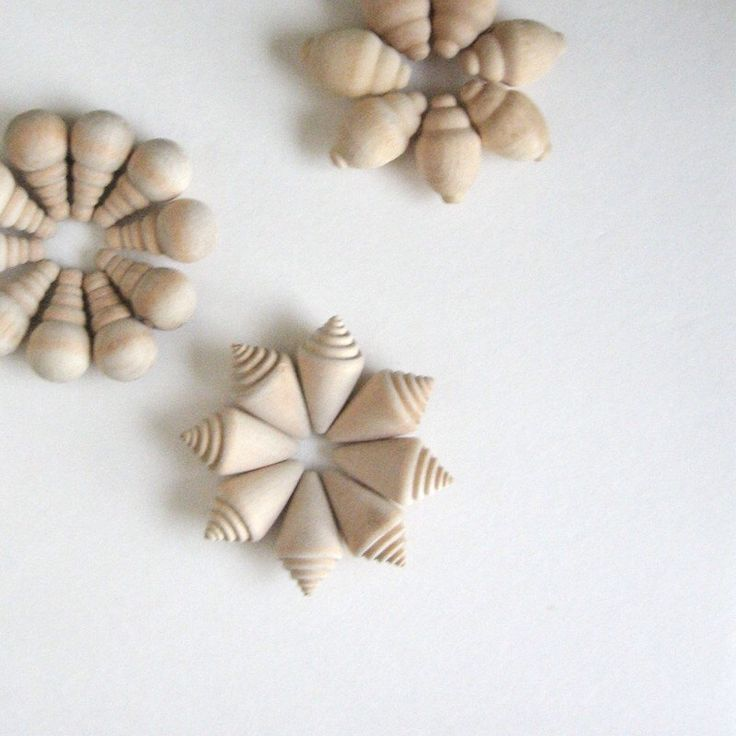 25 Decorative Wood Ornaments - Vintage Craft Supplies Wood Decorations Turned Wood Supplies Natural Wood Neutral Home Decor Beach Wedding by LastCentury on Etsy https://www.etsy.com/listing/111419070/25-decorative-wood-ornaments-vintage