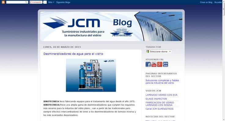 Blog de J.C.M. MAQUINARIA Y HERRAMIENTAS PARA EL VIDRIO