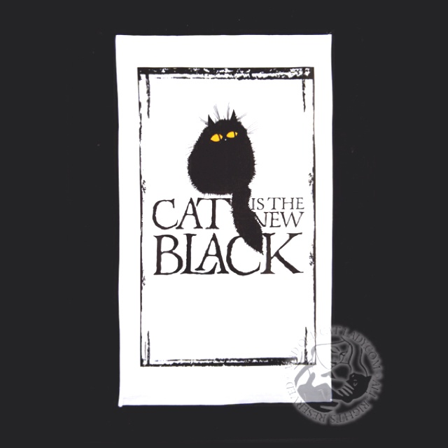 I just love this tea towel, perfect gift for a cat lover- find it here http://www.madoldcatlady.com/photo_8622525.html