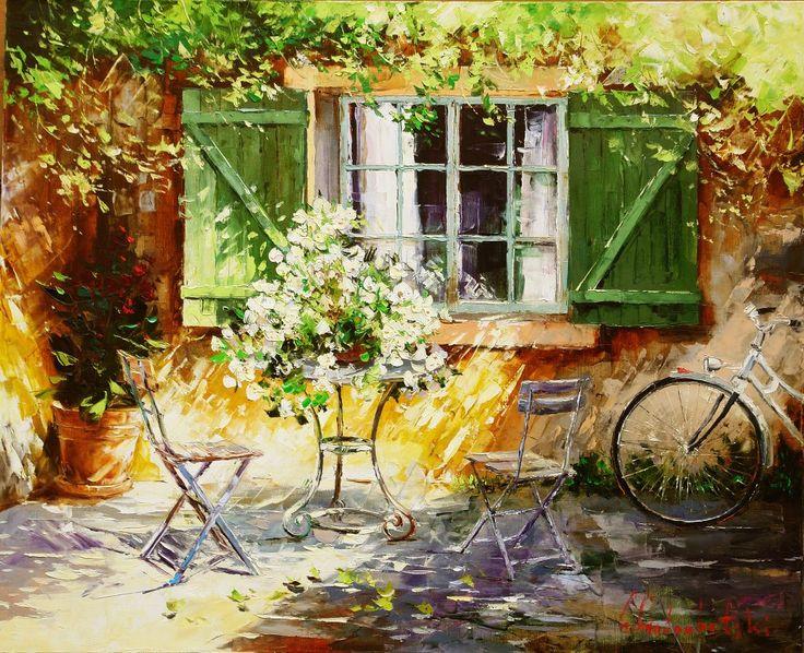 Russian artist Gleb Goloubetski