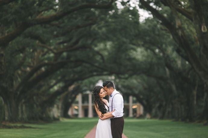 Oak Alley Plantation Wedding in Louisiana | Toronto & Destination Wedding Photography | Brandon Scott Photography
