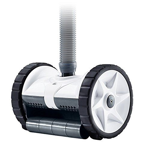 Kreepy Krauly Warrior Automatic In Ground Pool Cleaner - 360302 > Features a two-wheel design with a programmed steering cycle Maneuvers over pool floors, up 90 degree floor-to-wall angles and into hard to reach corners Compatible with gunite, fiberglass, and vinyl pools Check more at http://farmgardensuperstore.com/product/kreepy-krauly-warrior-automatic-in-ground-pool-cleaner-360302/