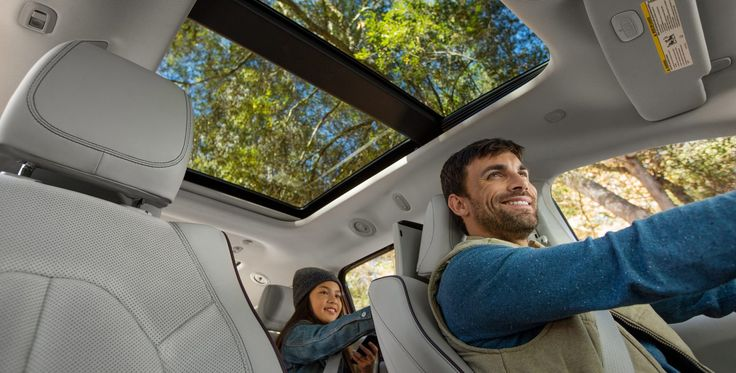 Cut back on your gas station detours. The Chrysler Pacifica Hybrid gets 84 MPG when using both electricity and gas. http://www.lebanoncdj.com/new-inventory/index.htm?search=&saveFacetState=true&make=Chrysler&model=Pacifica&lastFacetInteracted=inventory-listing1-facet-anchor-model-2